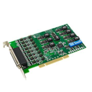 研华Advantech 8端口RS-232/422/485通用PCI串口卡,带隔离及浪涌保护,PCI-1622C-DE