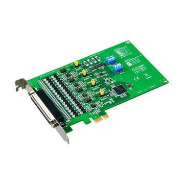 研华Advantech 4端口RS-232/422/485 PCIE串口卡,带浪涌及隔离保护,PCIE-1612C-AE