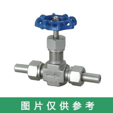 西域推荐 不锈钢304针型阀,J23W-320P,DN15,下单请确认焊接管外径