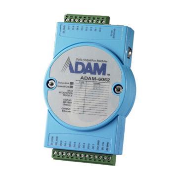 研华Advantech 智能型以太网IO模块,ADAM-6052-D