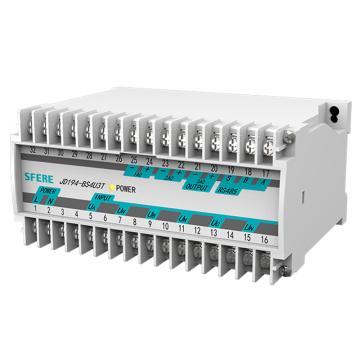 斯菲尔/SFERE 三路交流电压变送器,JD194-BS4U3T