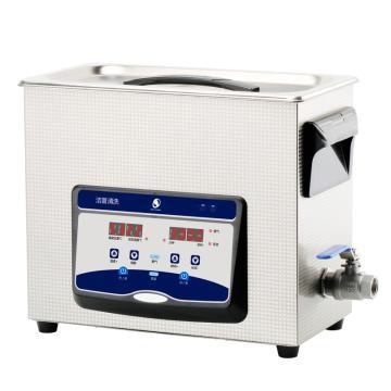 洁盟 数控触摸超声波清洗机,数码定时加热,容量:6.5L,超声波功率:90/180W,JP-031S