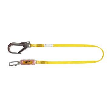 霍尼韦尔Honeywell 缓冲绳,1004579A,缓冲系带 配有1个脚手架挂钩和1个安全钩 2米
