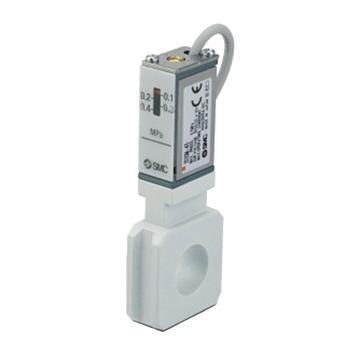 SMC 压力开关,有触点型舌簧开关式,带隔板,3C-IS10M-40-6L-A