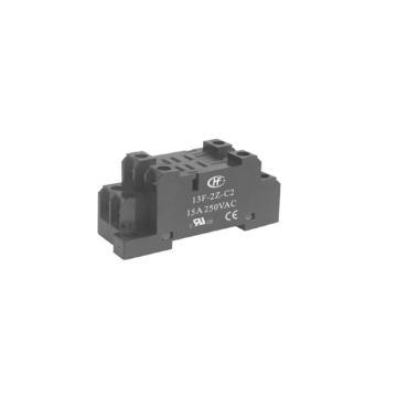 宏发HONGFA HF13F功率继电器底座,13F-2Z-C2(每盒5个)