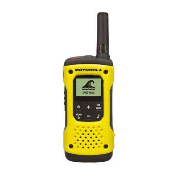 摩托罗拉 T92公众对讲机(单只装),免执照对讲机 户外装备 防水设计,适用于平面沟通0.5W功率