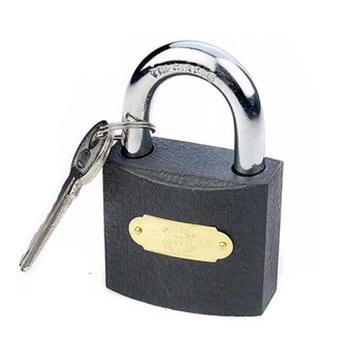 三环 铁挂锁,通开365-50mm,每把锁都配有钥匙