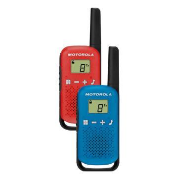 摩托罗拉 T42公众对讲机,免执照0.5W功率(两只装)