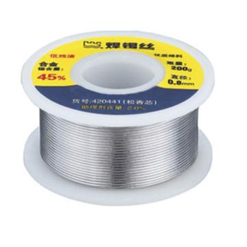 长城精工 有铅含锡30%焊锡丝(200g),¢0.8,420431