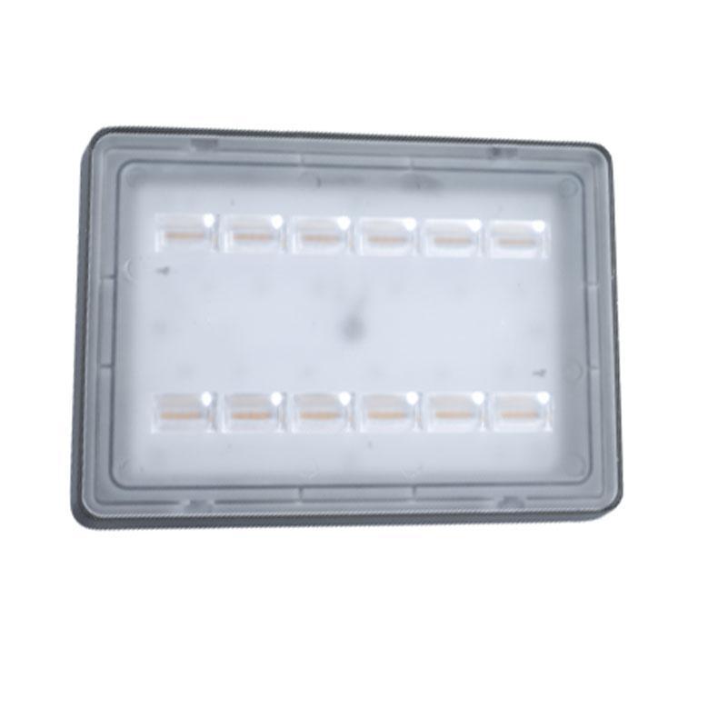 欧普 LED泛光灯,LTG0125167001-轩烨-70W-40x80-灰,功率70W白光,单位:个