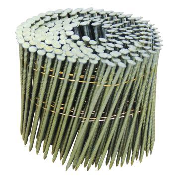 美特 螺纹卷钉,钉子长度64mm 线径2.5mm 7500枚/箱(250枚/卷,30卷/箱)