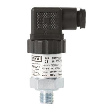 威卡/WIKA OEM紧凑型压力开关,可设定迟滞 PSM02型 0-0.5-0.8MPa G1/4