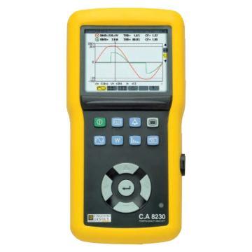 法国CA/CHAUVIN ARNOUX 单相电能质量分析仪,C.A 8230 含1个MN93A 钳头