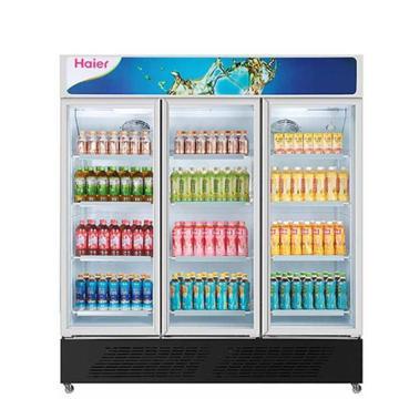 海尔 三门立式商用保鲜冷藏柜饮料玻璃展示柜,SC-1050HL,有效容积989L