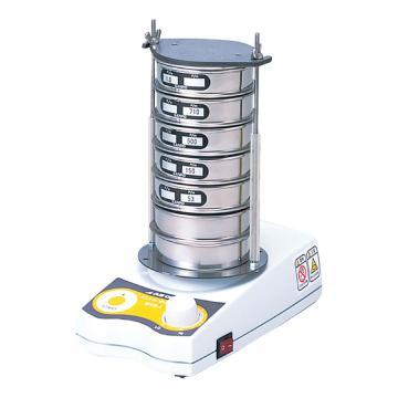 亚速旺 迷你电磁振动筛,转速:1000~2500rpm,不含图中筛子(需另购),MVS-1N 100V,1-8990-11
