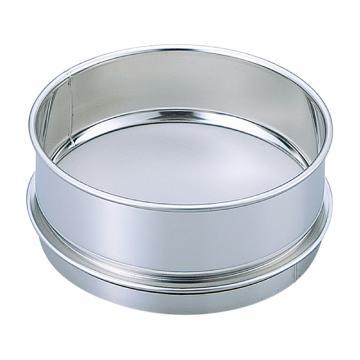 亚速旺 经济型不锈钢筛子,φ150×45 19.0mm (1个),5-3290-12
