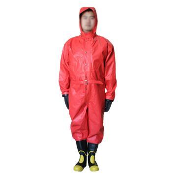美康 半封闭式二级化学防化服,XXL,MKF-07