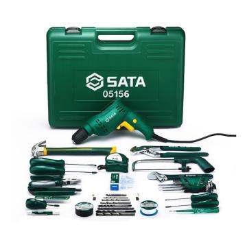 世达 五金家用电动工具组套,58件套,05156