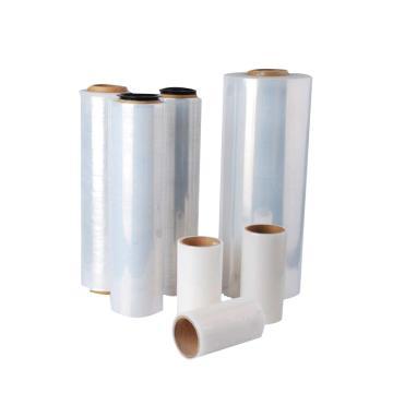 Raxwell 手动缠绕膜,300mm*0.02mm,长度500m,含卷轴2.8kg/卷,不含轴2.5kg/卷,4卷/箱