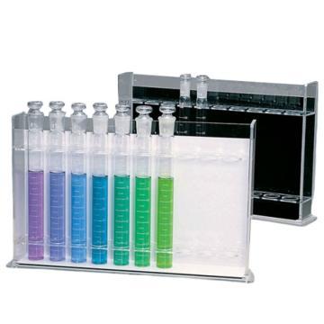亚速旺(ASONE)有机玻璃比色管架 H-5(50ml用)(1个),6-293-01
