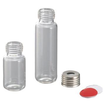 亚速旺螺口顶空进样瓶 带隔片铝帽SAC 1袋(100个)