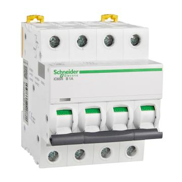 施耐德Schneider 微型断路器 iC65N(A9) 4P 20A C型 A9F18420
