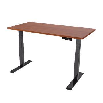 乐歌Loctek 三节腿双电机电动升降桌腿ET223 (仅桌腿,配1.4米桌板需另加450元 )