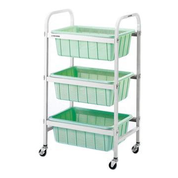 亚速旺 带筐移动车,专用于实验室器皿清洗、沥水,尺寸:518×363×920mm,TY-3,4-149-01