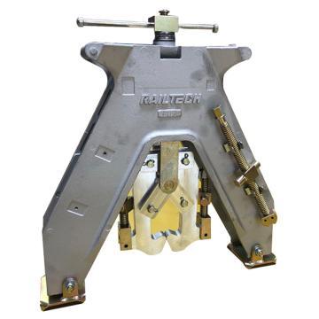 铝热焊配件,A型对正架