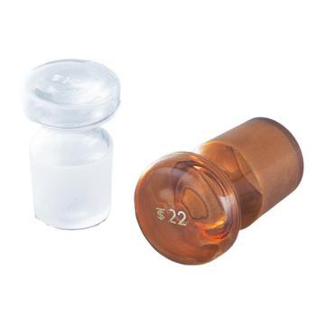 亚速旺ASONE容量瓶塞(白色) No.22 1个,1-8567-05