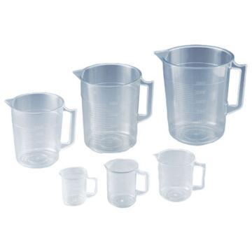 亚速旺(ASONE)透明量杯1000ml 1个,1-4623-15