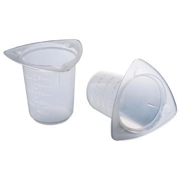 亚速旺一次性三角量杯(带刻度) 93-0100 25个/袋