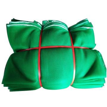 西域推荐 阻燃防尘网,绿色,加密7针,尺寸(m):1.8*6,2000目,含包边打孔