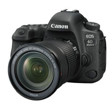 佳能Canon 数码单反相机 全画幅(约2620万像数)EOS 6D Mark II(EF 24-105mm f/3.5-5.6 IS STM )