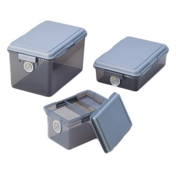亚速旺 迷你防潮箱(干燥剂型),内寸:251×403×100mm,DB-11LN,1-9192-02