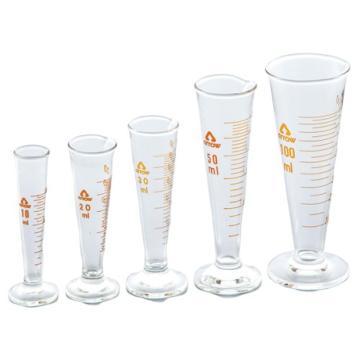 亚速旺(ASONE)玻璃量筒杯 50ml 1个,1-2072-04