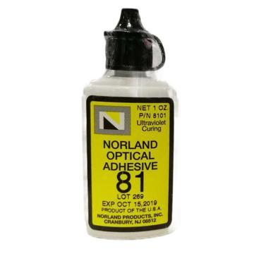 Norland 紫外胶水固化光学胶,NOA81