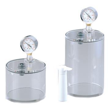 亚速旺 迷你真空容器,容量约3.0L,外尺寸:φ150×223mm,VCP-30L,1-4467-02