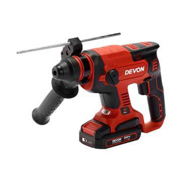 大有充电式无刷电锤,20V 5.2Ah单电快充 混凝土22mm,5401-Li-20