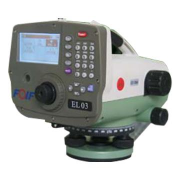 8113820苏一光 电子水准仪,EL03,含2米铟钢条码尺1对,含脚架