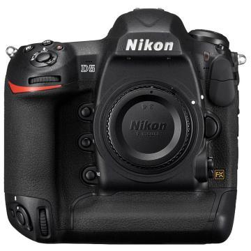 尼康D5单反数码照相机,专业级全画幅机身 旗舰单反 XQD版(ISO 100-102400)