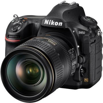 尼康D850单反数码照相机,专业级全画幅套机(AF-S 24-120mm f/4G ED VR镜头)