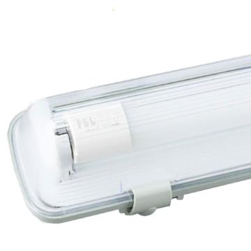 佛山照明 LED T8三防灯,长0.6米 单管 炫丽系列 不含灯管 ,适配1pcs双端输入LED T8灯管,单位:个