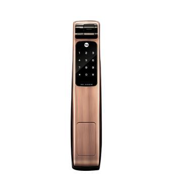 耶鲁 智能电子门锁,YMG-40,红古铜,不包安装