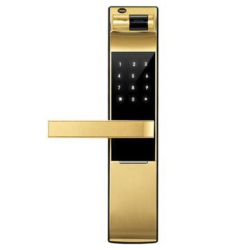 耶鲁 智能电子门锁,YDM-4109,金色,不包安装