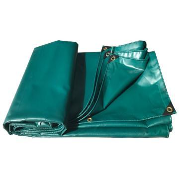 西域推荐 墨绿防雨油布,6*8m,三股绳配黑包角,克重:530±20克,厚度:0.5(±0.05)mm