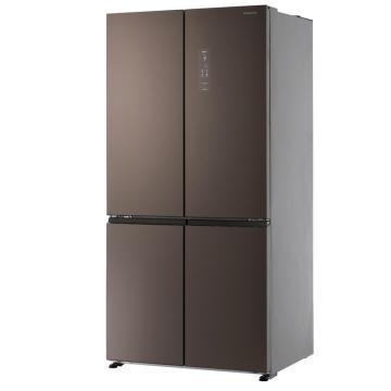 松下 628L十字对开冰箱,NR-W621CF-MT,银离子抗菌装置,顶置式压缩机,宽幅自由变温室