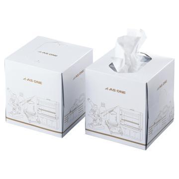 亚速旺实验室用高级纸巾 214×222 1箱(160张(80组)/盒×12盒)