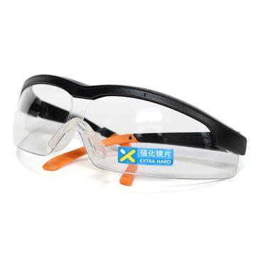 霍尼韦尔Honeywell 防护眼镜,110210,S600A流线型防护眼镜 防刮擦防紫外线