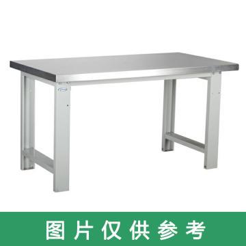 西域推荐 全不锈钢工作台,尺寸(mm):1400*750*800